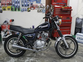 GN125/スズキ 125cc 東京都 Recycle Garage TAKE ONE 練馬店